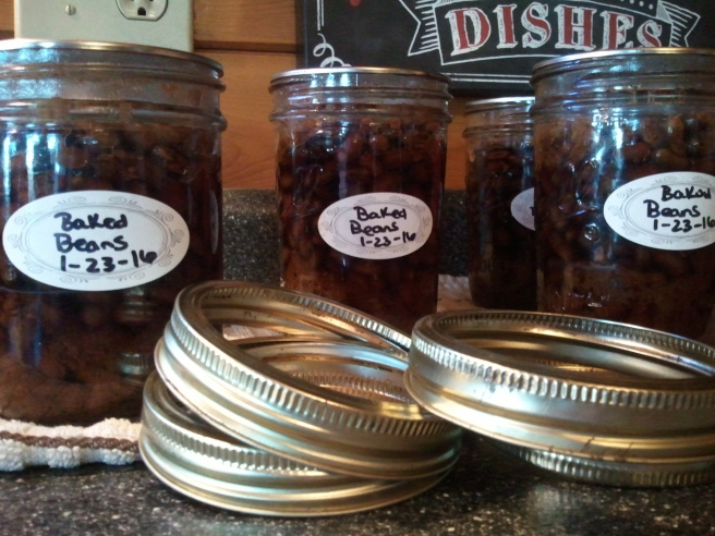 Canning Recipes | Baked Beans