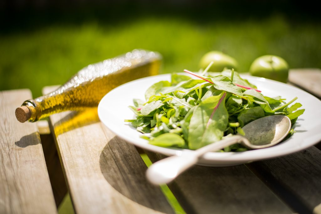 salad greens - 6 Good things You Can Do For Your Health For Under $5.00