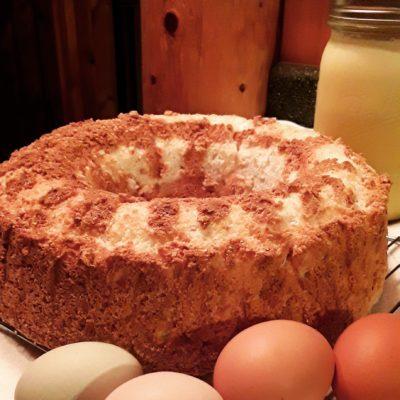 Angel Food Cake Recipe – with Farm Fresh Eggs