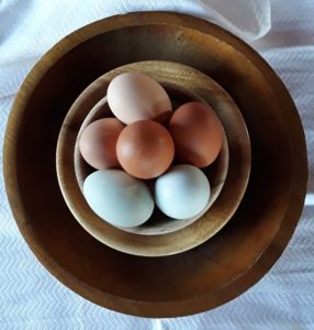 Bowl of Farm Fresh Eggs